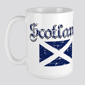 Scottish Flag Large Mug