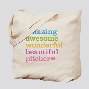 Awesome Pitcher Tote Bag