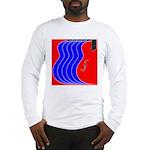 Red & Blue Long Sleeve T-Shirt