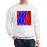 Red & Blue Sweatshirt