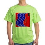 Red & Blue Green T-Shirt