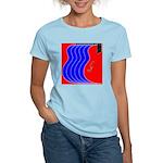 Red & Blue Women's Light T-Shirt