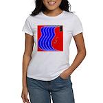 Red & Blue Women's T-Shirt
