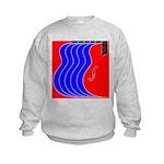 Red & Blue Kids Sweatshirt