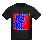 Red & Blue Kids Dark T-Shirt