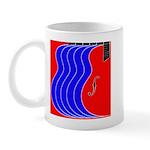 Red & Blue Mug