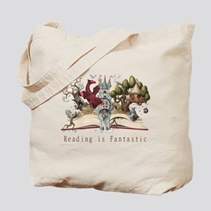 Reading is Fantastic II Tote Bag