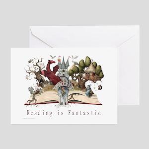 Reading is Fantastic II Greeting Card