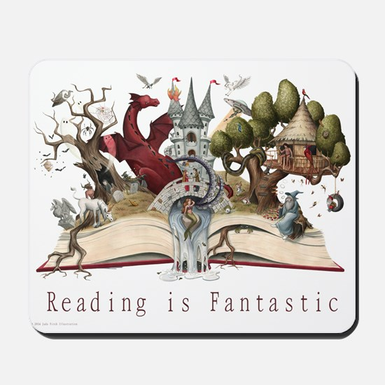 Reading is Fantastic II Mousepad
