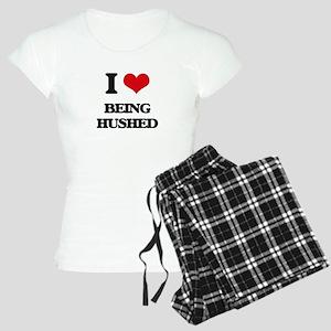 I Love Being Hushed Women's Light Pajamas