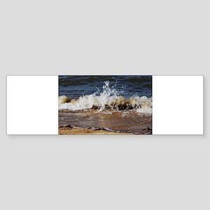 Waves on the Beach Bumper Sticker