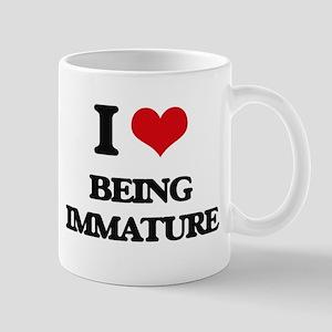 I Love Being Immature Mugs