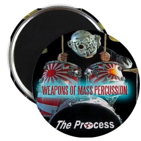 Weapons Of Mass Percussion Magnet