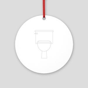 Toilet Ornament (Round)
