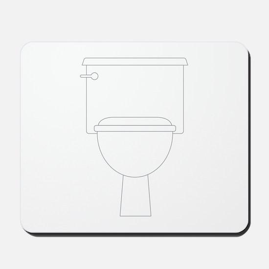 Toilet Mousepad