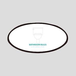 Toilet Etiquette Patches