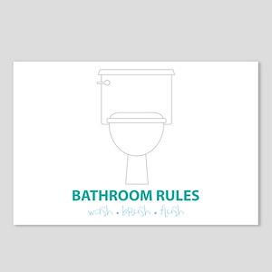 Toilet Etiquette Postcards (Package of 8)