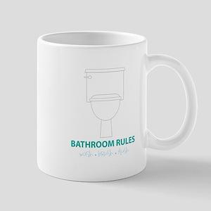 Toilet Etiquette Mugs