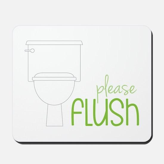 Toilet Etiquette Mousepad