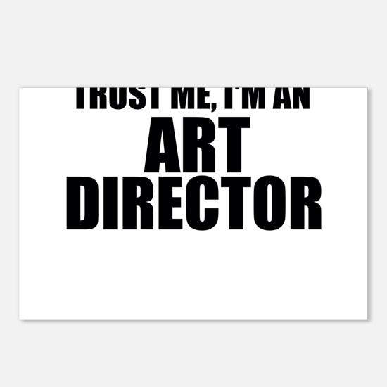 Trust Me, I'm An Art Director Postcards (Packa