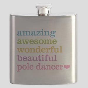 Pole Dancer Flask