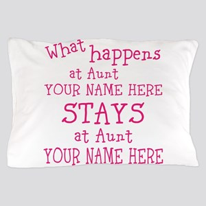 Aunts House Pillow Case