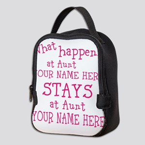 Aunts House Neoprene Lunch Bag