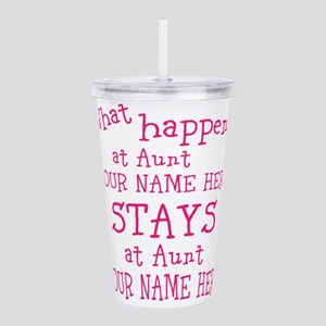 Aunts House Acrylic Double-wall Tumbler
