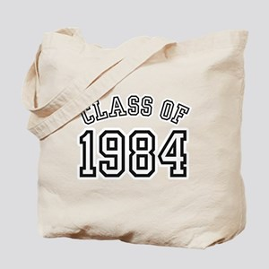 Class of 1984 Tote Bag