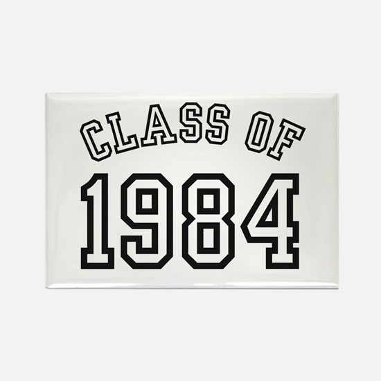 Class of 1984 Rectangle Magnet