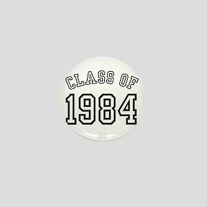 Class of 1984 Mini Button