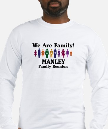 MANLEY reunion (we are family Long Sleeve T-Shirt