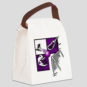 lacross2 Canvas Lunch Bag