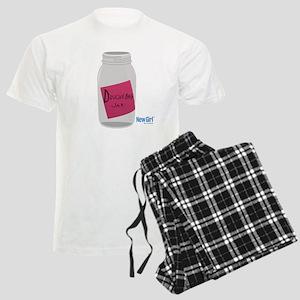 New Girl Jar Men's Light Pajamas