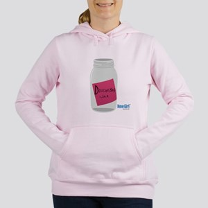 New Girl Jar Women's Hooded Sweatshirt
