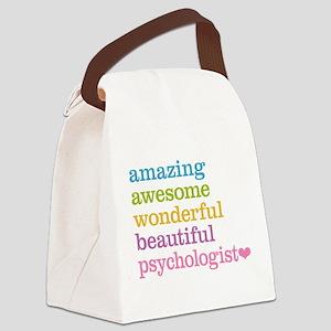 Psychologist Canvas Lunch Bag