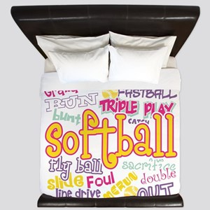Softball King Duvet