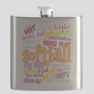 Softball Flask