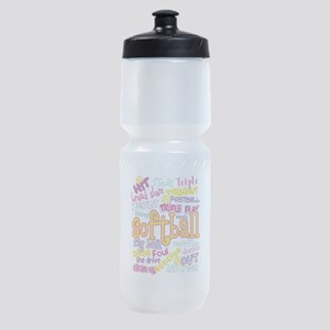Softball Sports Bottle