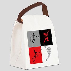 lacross10 Canvas Lunch Bag