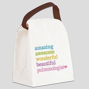 Pulmonologist Canvas Lunch Bag