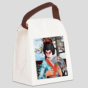Geisha Canvas Lunch Bag