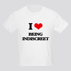 I Love Being Indiscreet T-Shirt