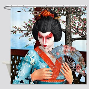 Geisha Shower Curtain
