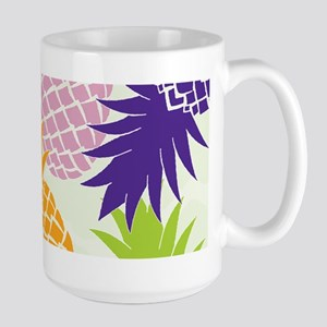 Colorful pineapples patterns Mugs