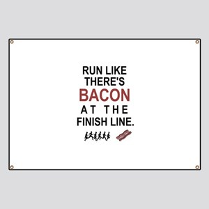 Will Run for Bacon Banner
