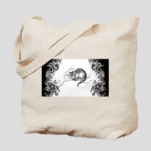 Cheshire Cat Swirls Tote Bag