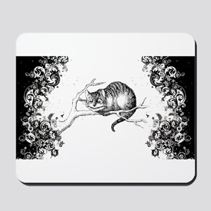 Cheshire Cat Swirls Mousepad