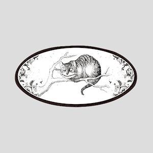 Cheshire Cat Swirls Patches