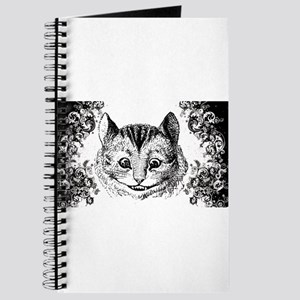 Cheshire Cat Swirls Journal